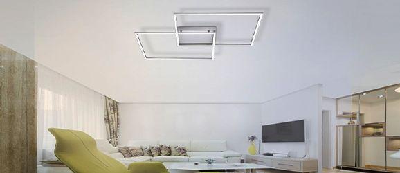 LED Deckenleuchten Küchen Schlaf Wohn Zimmer Keller Büro Lampen 20 Watt Panel