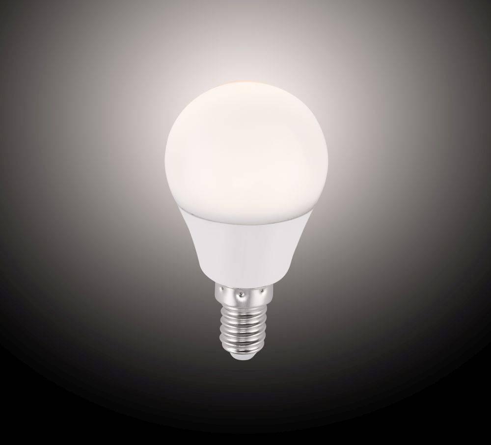 LED-Leuchtmittel E14 mit Infrarot-Fernbedienung inkl. Dimmfunktion und Farbtemperatursteuerung