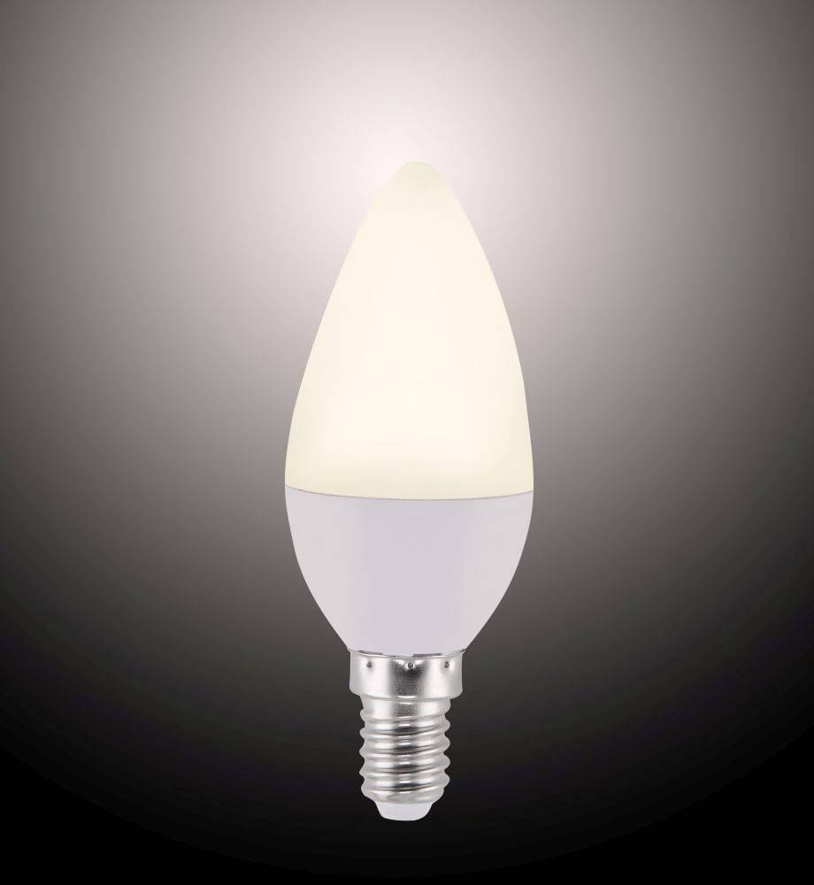 LED-Leuchtmittel E14 mit Infrarot-Fernbedienung inkl. Dimmfunktion und  CCT