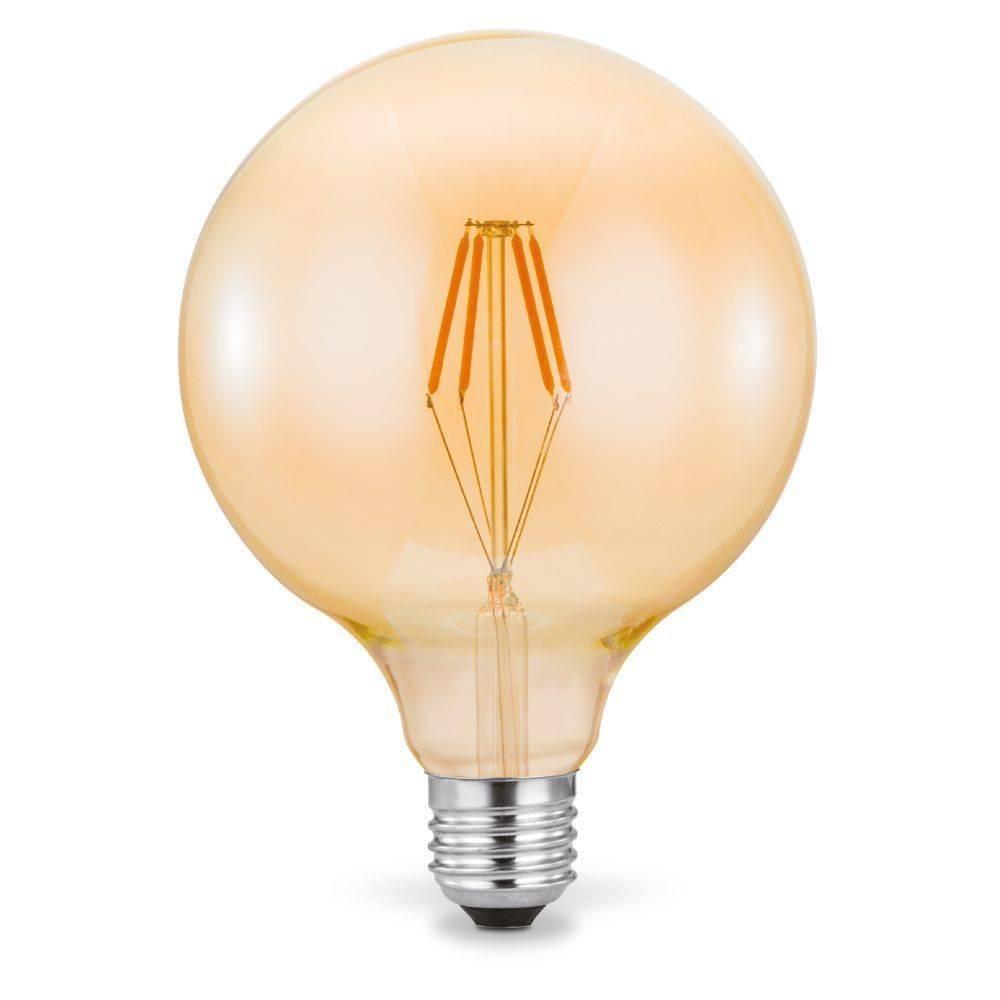 LED Filament, Vintage, Globe, E27, D=125mm