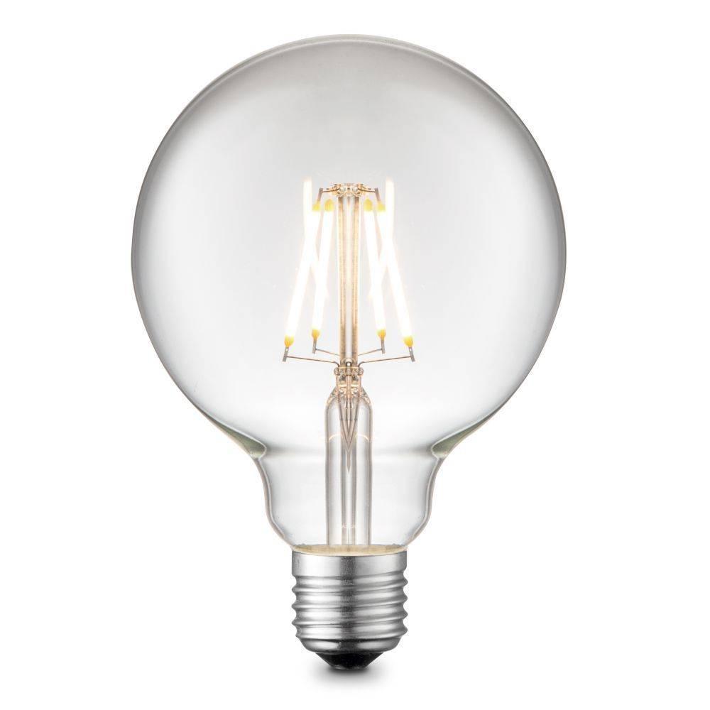 LED Filament Globe, E27, D= 95mm