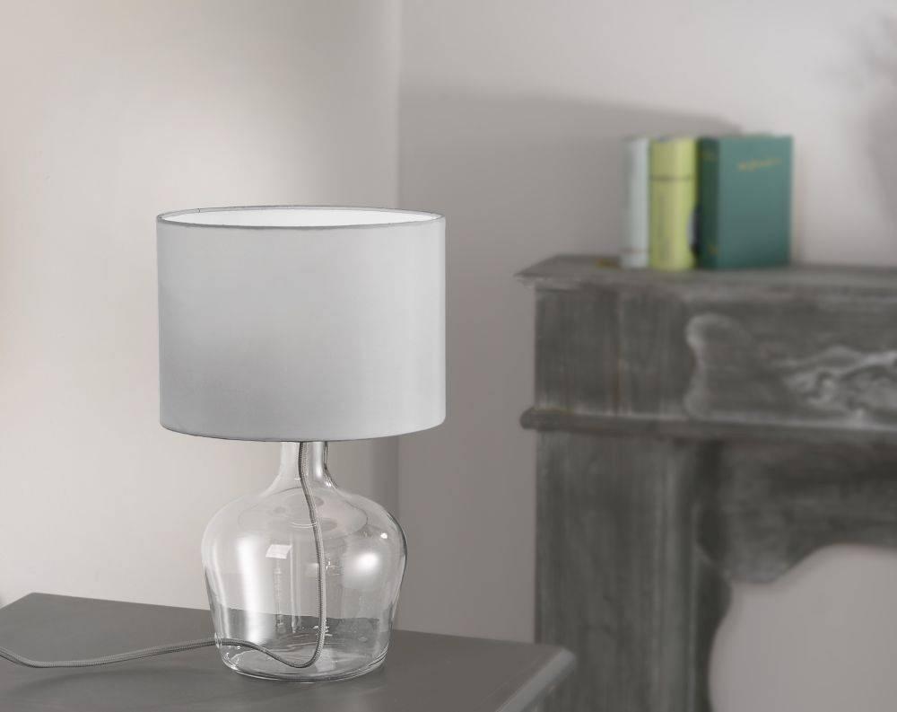 LED Vasenleuchte, Tischleuchte, Glas, Design