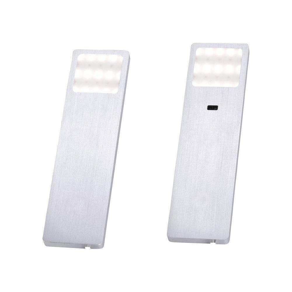 LED-Unterbauleuchten 2er Set mit warmweißer Lichtfarbe inkl. Zuleitung und Sensorschalter