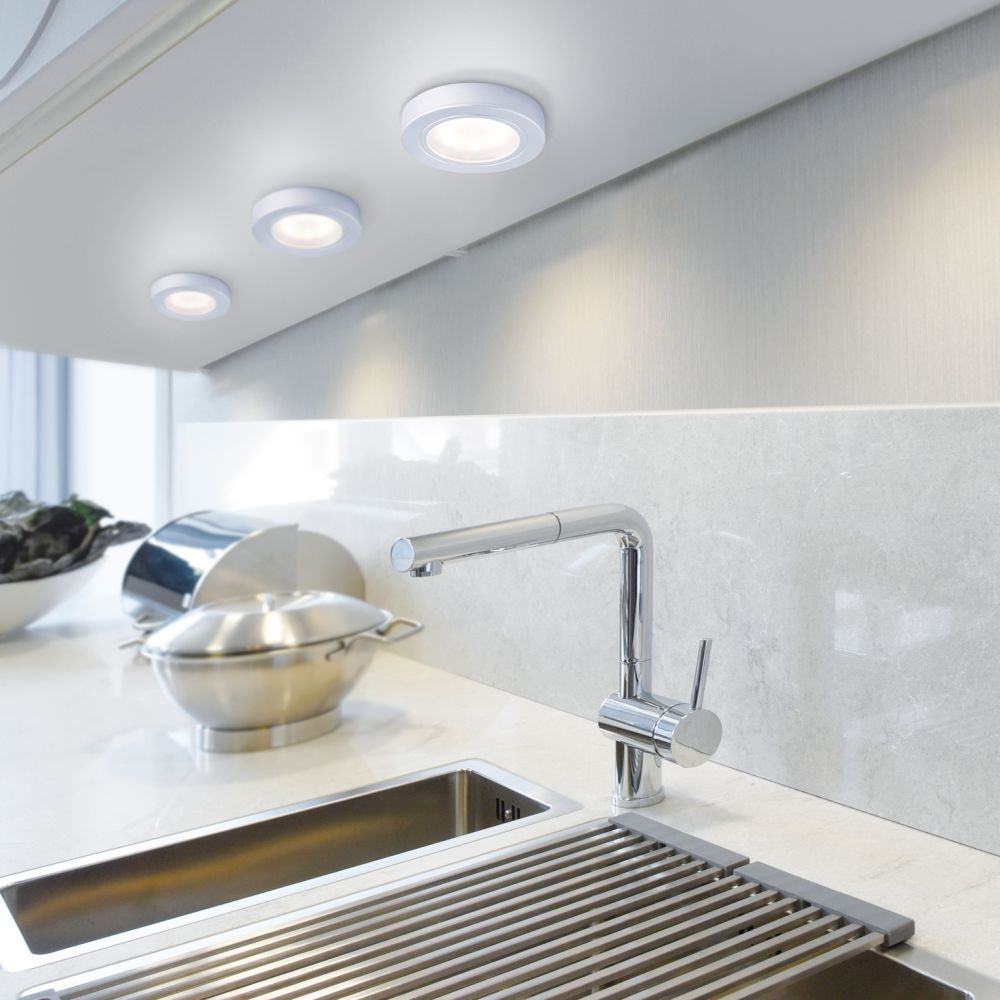 Aufbauring zu Q-ELLI Smart Home in Aluminiumoptik