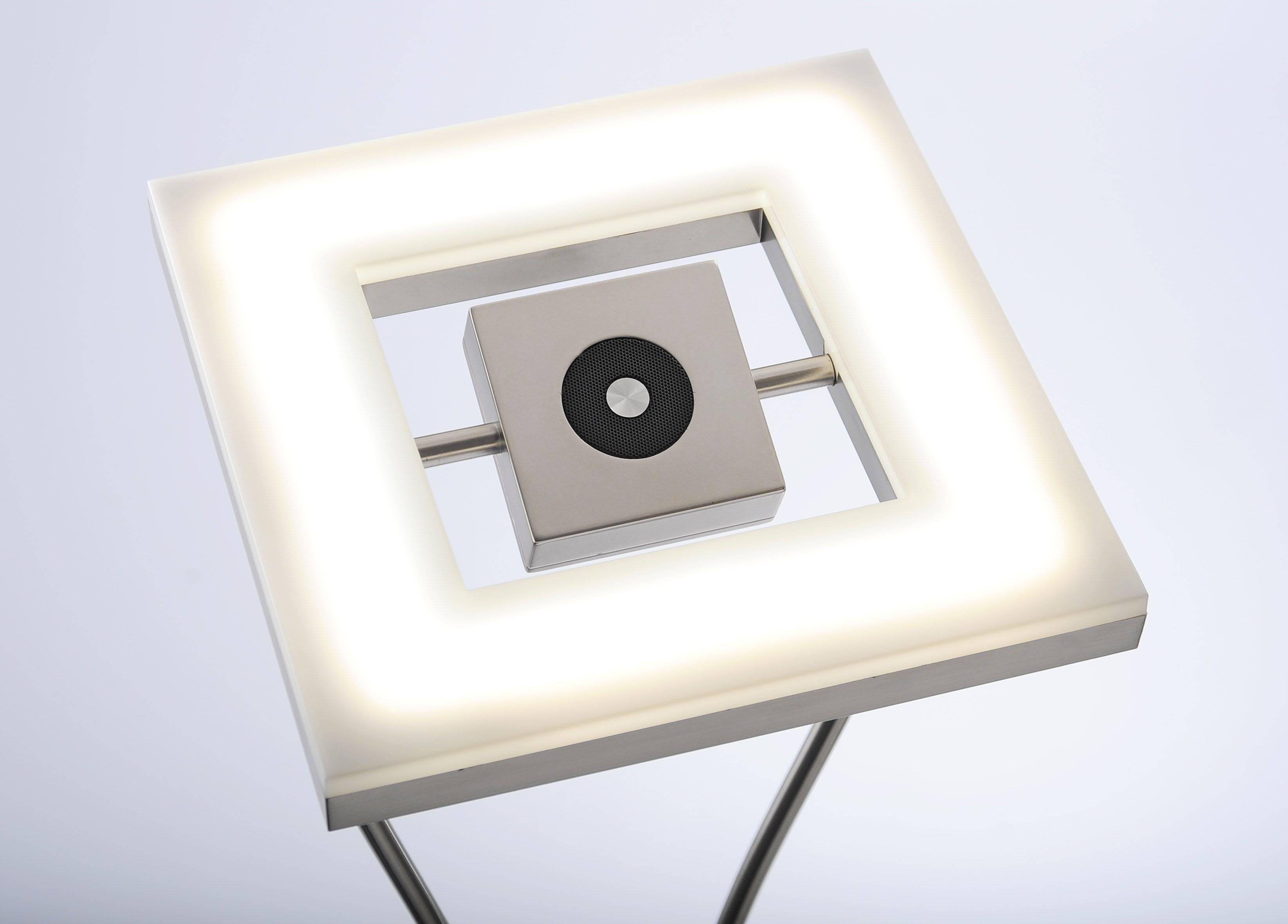 LED Deckenfluter mit Lesearm und Lautsprecher