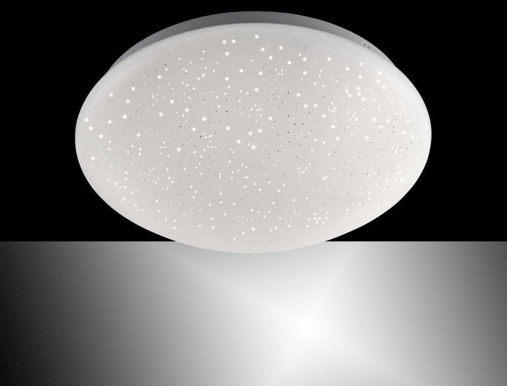 LED Deckenleuchte, Sternenhimmel-Optik, D= 26cm