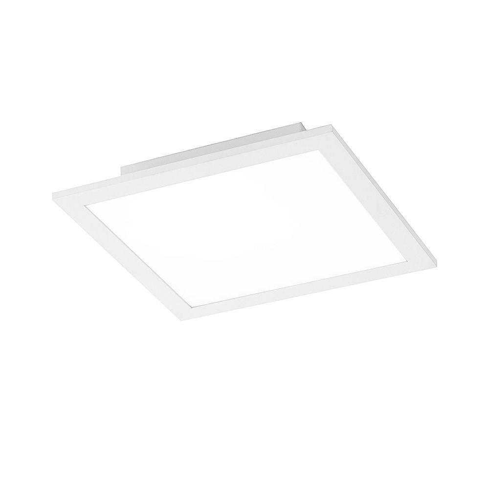 LED-Panel in weiß und quadratisch mit neutralweißer Lichtfarbe