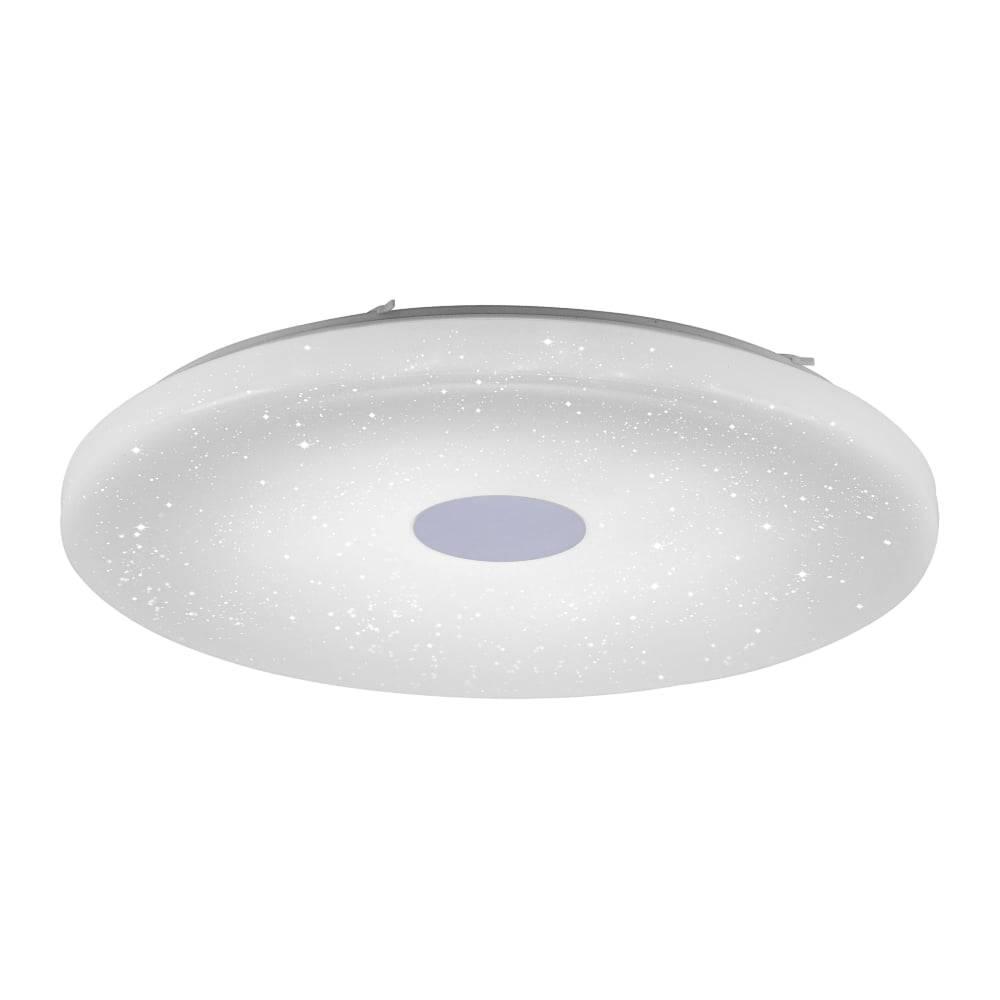 LED-Deckenleuchte in Sternenhimmeloptik mit Lichtfarbsteuerung und Fernbedienung sowie Serienschaltung