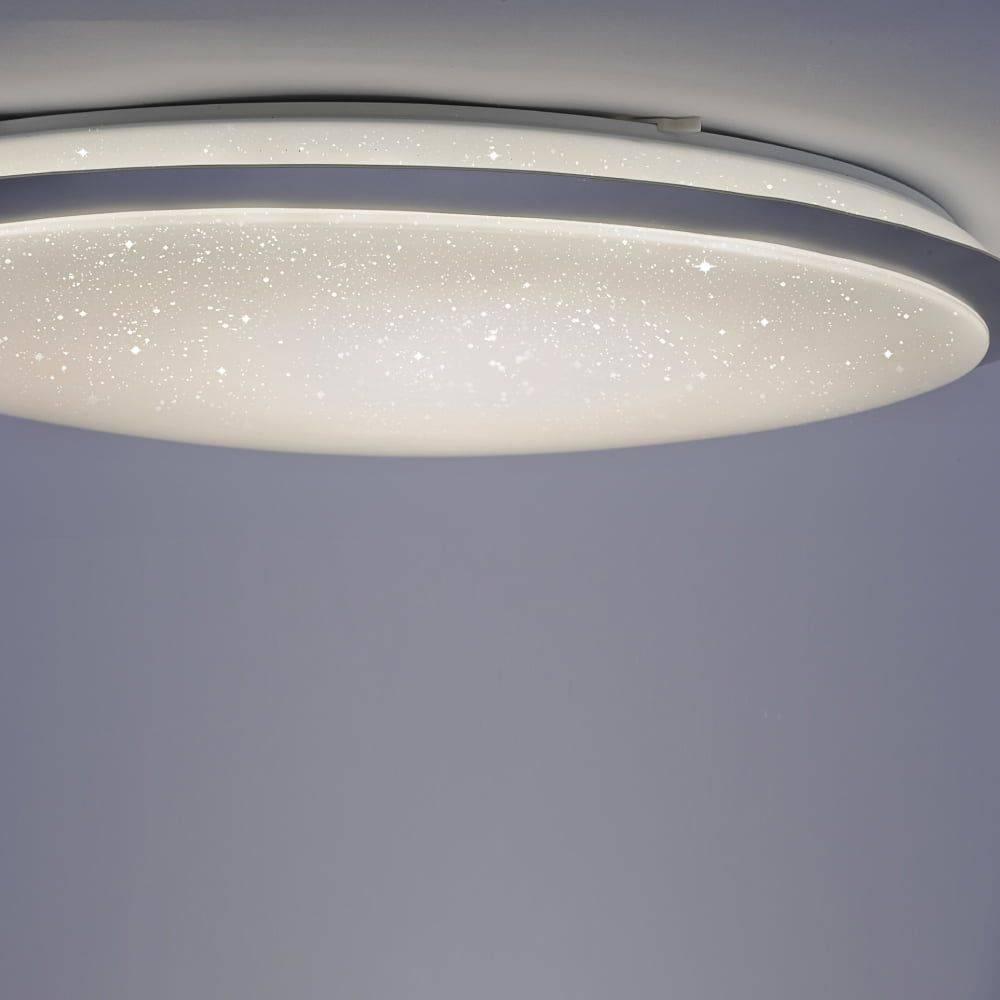 LED Deckenleuchte, Sternenhimmel-Optik, D=80cm