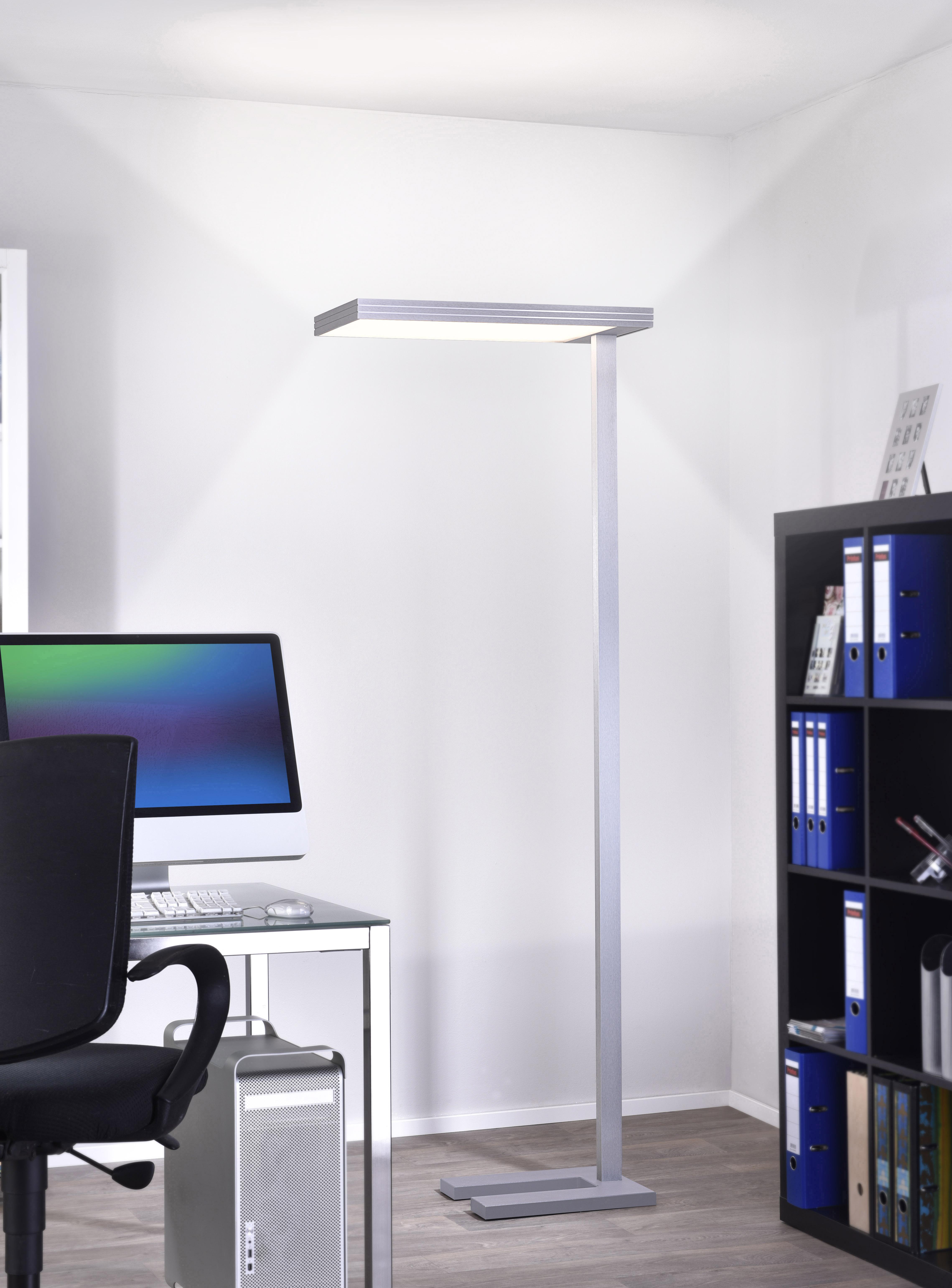 Paul Neuhaus, Q-PAUL, LED-Stehleuchte, aluminium, Smart Home (Auslauf)