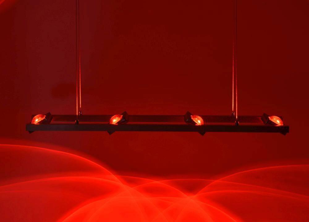 Q-FISHEYE Pendelleuchte Smart-Home mit RGB Farbwechsel und Fernbedienung inkl. Dimm- und Memoryfunktion