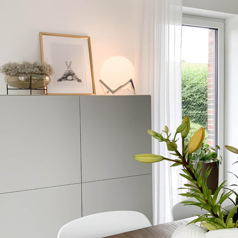 Paul Neuhaus, Q-MANUEL, LED-Tischleuchte, CCT, RGB+W, Smart Home (Auslauf)