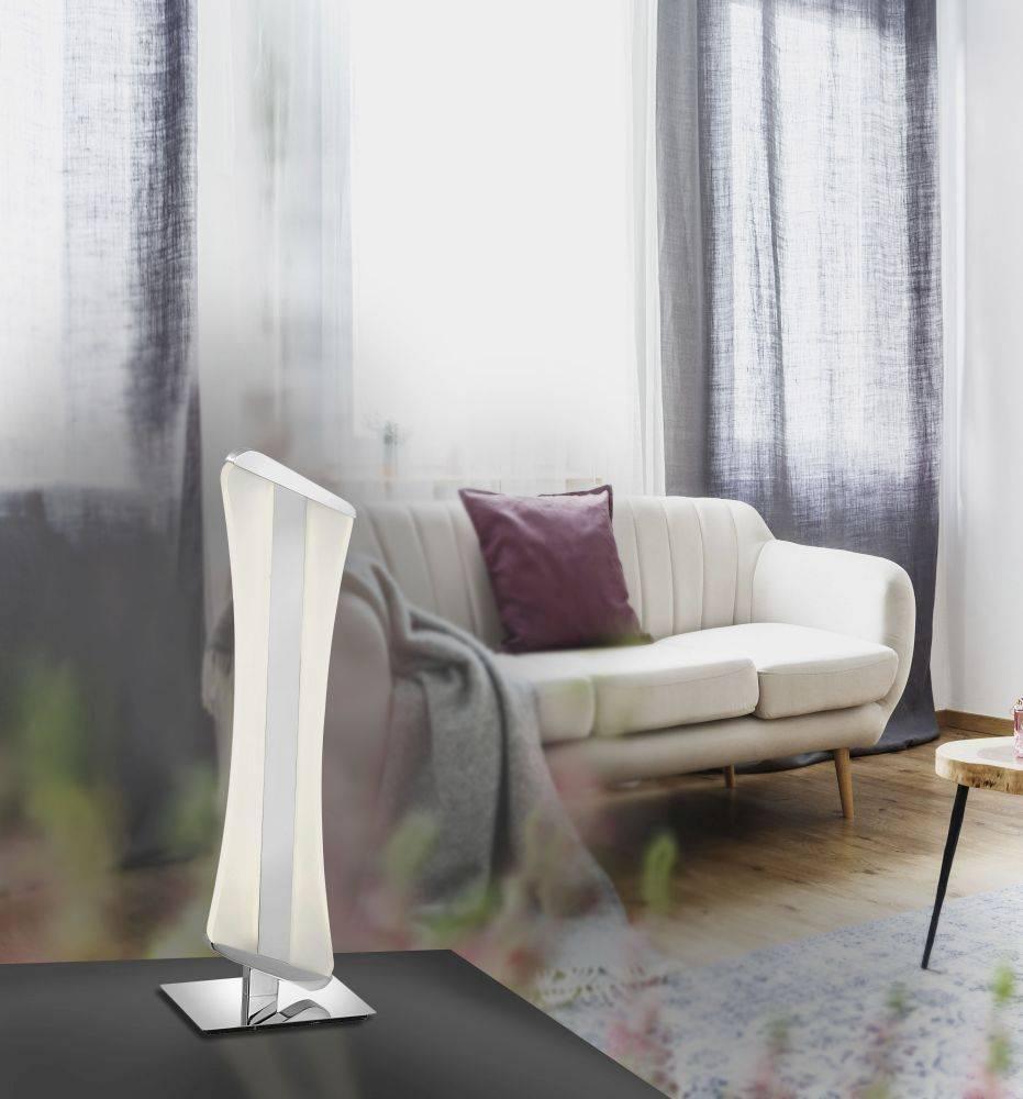 Q-RILLER Tischleuchte mit Farbwechsel und Funk-Fernbedienung inkl. Dimmfunktion ist mit Alexa kompatibel