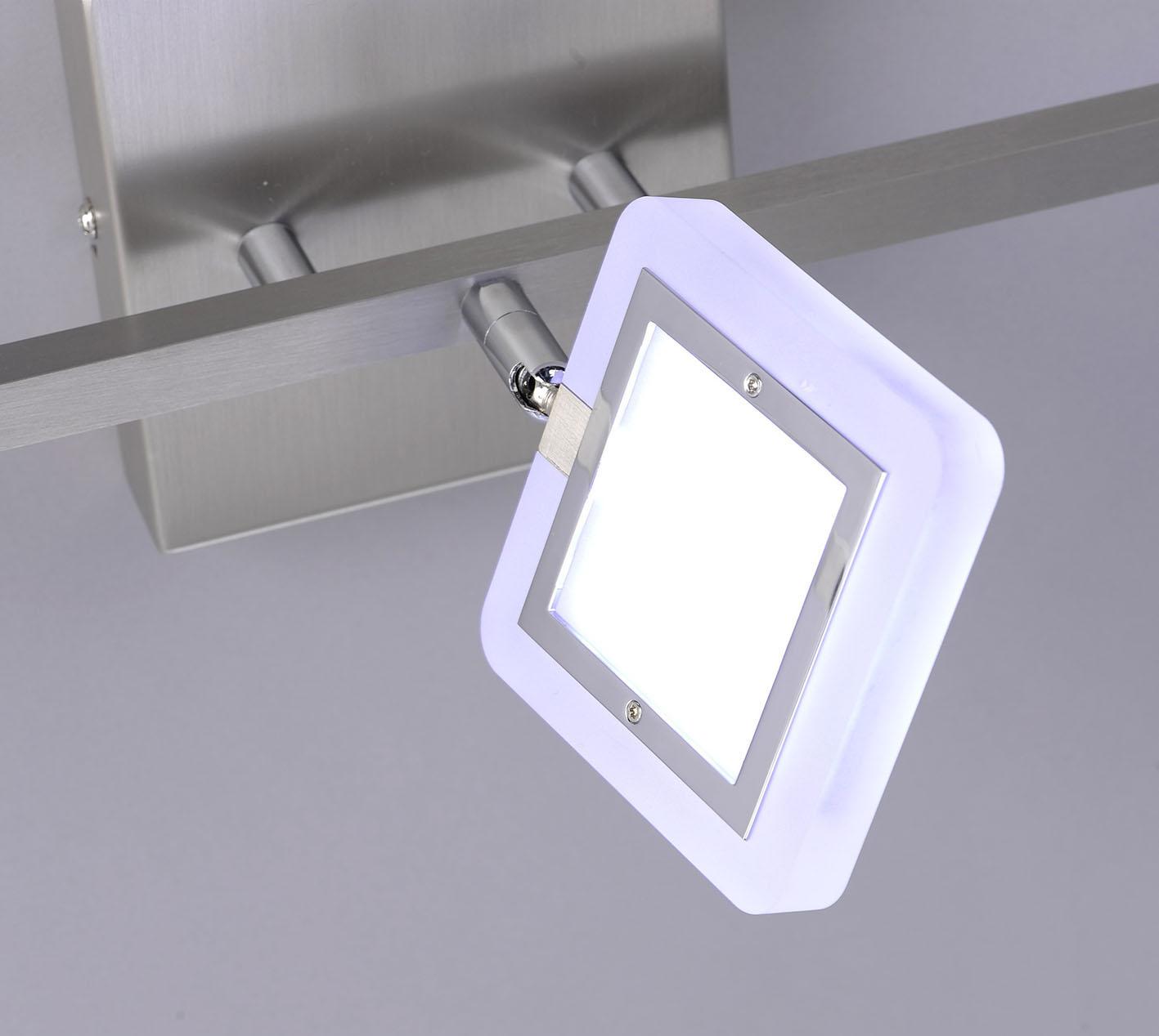 Q-VIDAL LED Deckenleuchte, Smart Home, 3-flammig, verstellbare Spots (Auslauf)