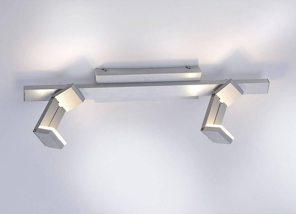 LED-Deckenleuchte mit Verstellfunktion sowie Austauschfähigkeit der Leuchtmittel (XMO) inkl. Dimmfunktion