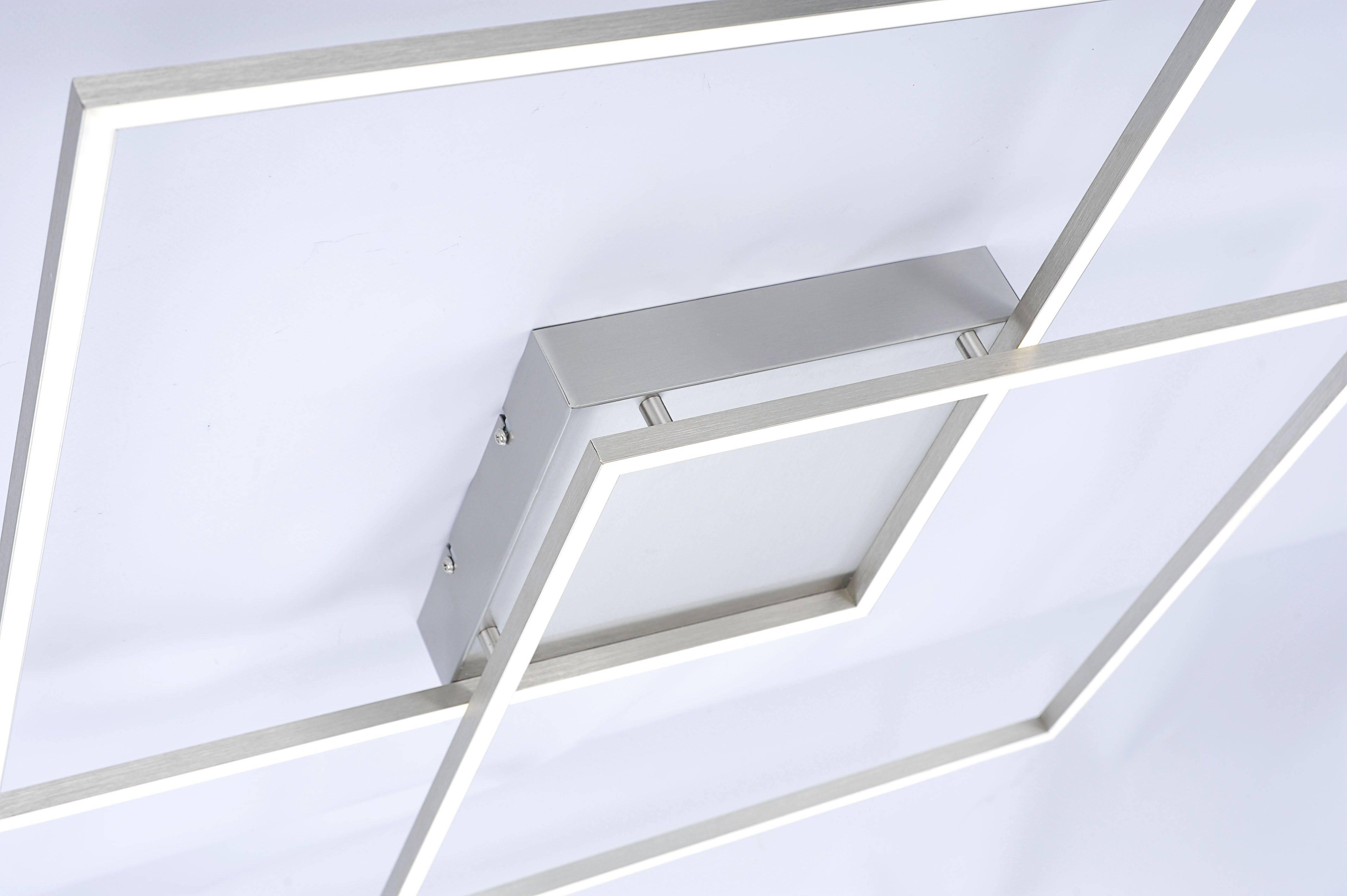 Q-INIGO LED Deckenleuchte Smart-Home mit Farbtemperatursteuerung