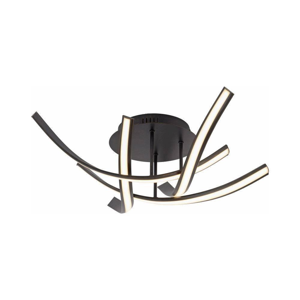 led deckenleuchte rostbraun verspiel design ebay. Black Bedroom Furniture Sets. Home Design Ideas