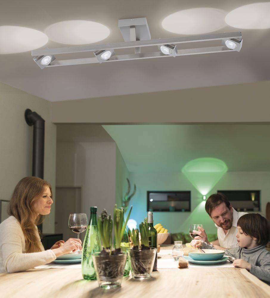 Q-FISHEYE Deckenleuchte Smart-Home mit Lichtfarbsteuerung und RGB Farbwechsel inkl. Dimmfunktion