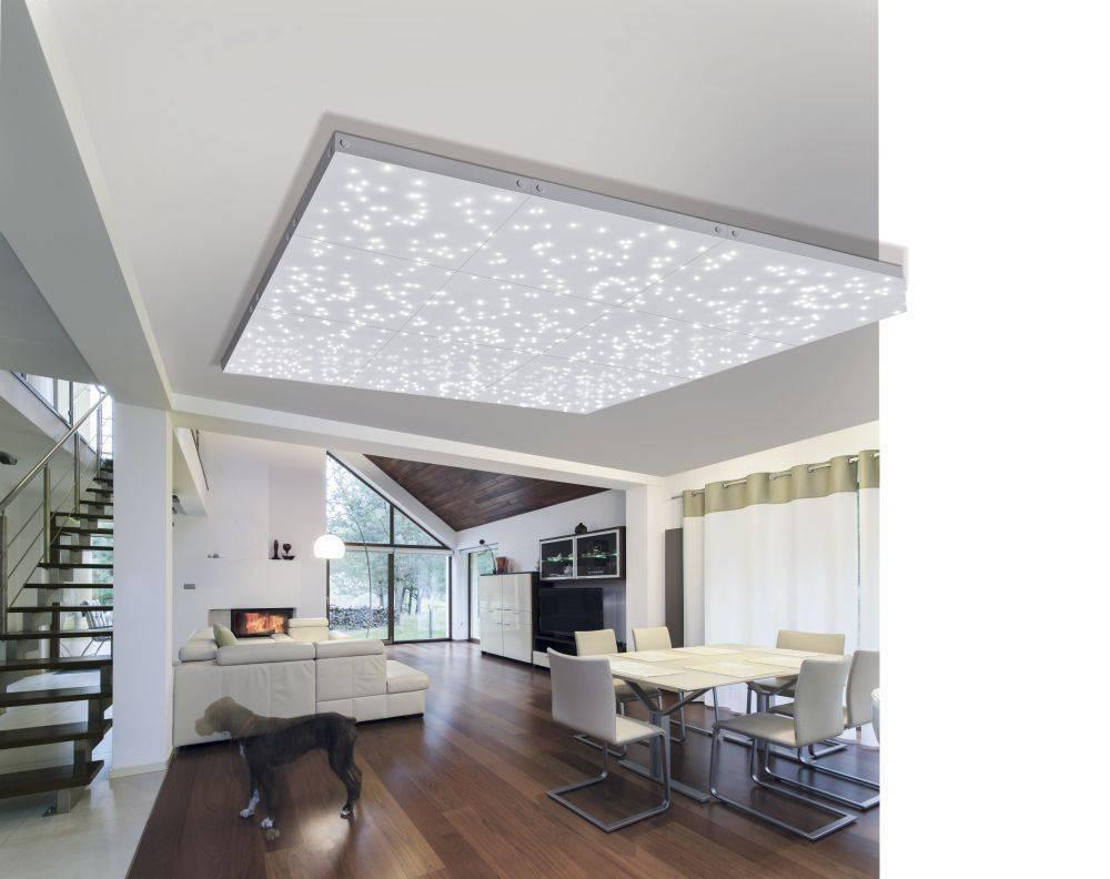 LED Panel Sternenhimmel, Erweiterungspanel für modulares Lichtsystem