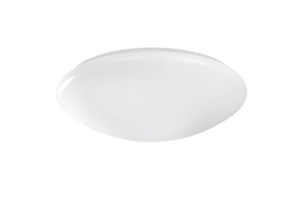 Deckenleuchte in rund und weiß mit Acrylglas Kuppel