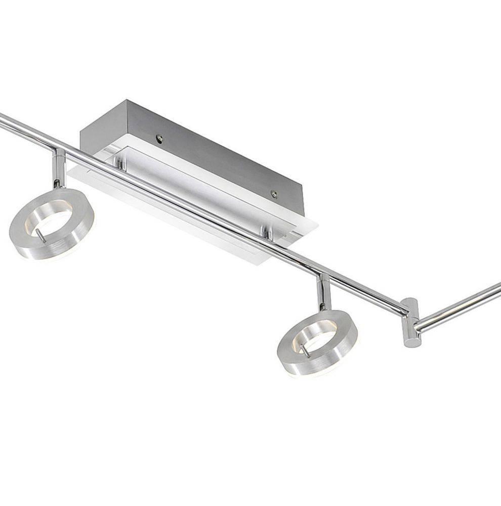 LED Strahlerschienenleuchte, 6-flammig, schwenkbar