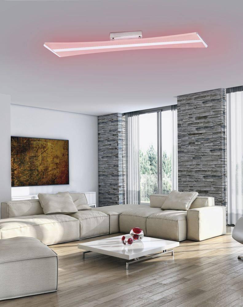 Q-RILLER Deckenleuchte Smart-Home mit Farbwechsel und Lichtfarbsteuerung und Fernbedienung ist dimmbar