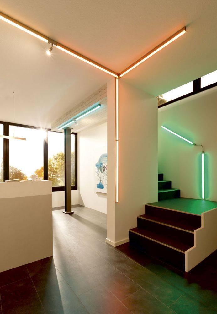 Einspeisung für Schienensystem SNAKE für Q-SNAKE Leuchten nach Baukastenprinzip ist Smart-Home kompatibel