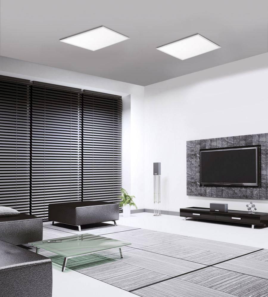 LED-Panel Q-FLAG in quadratischer Form mit Smart-Home Funktion und Farbtemperatursteuerung