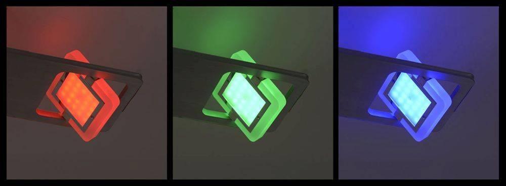 Q-GAEL LED Deckenleuchte Smart Home fähig mit Fernbedienung und Memory Funktion