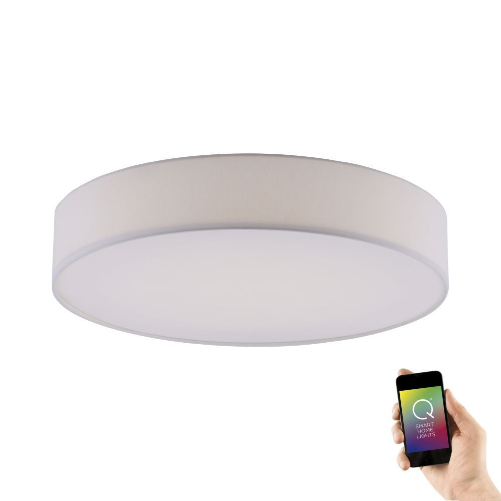 Q-KIARA, LED Deckenleuchte, Smart Home