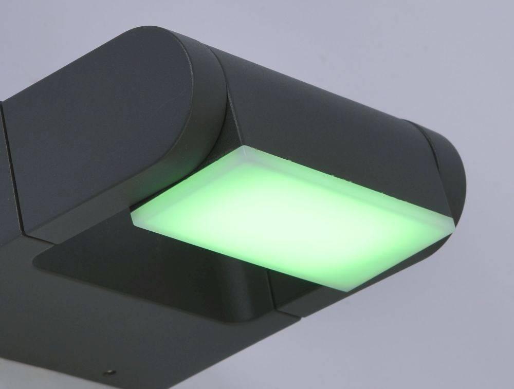 Q-ALBERT, LED Außenwandleuchte, Smart Home, IP 54