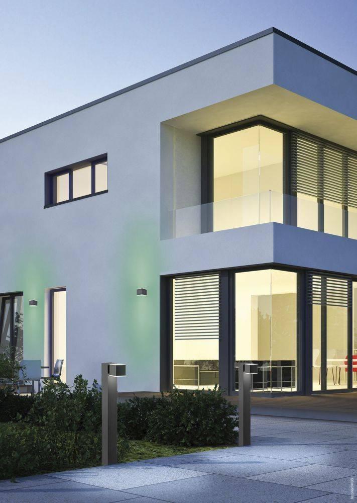 Q-AMIN, LED Wandaußenleuchte, Smart Home, IP44