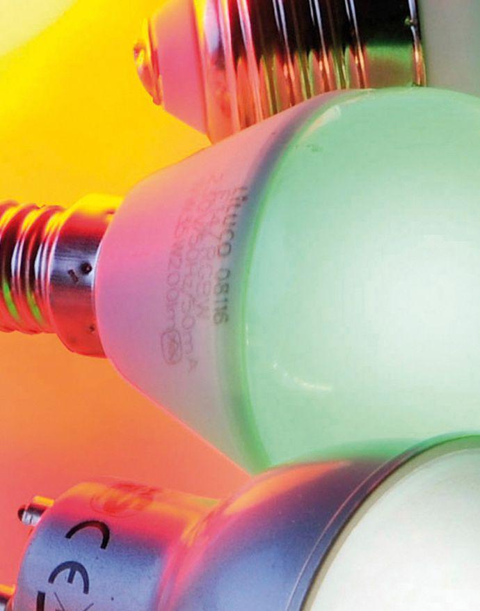 LED-Tropfenlampe E14, Fernbedienung, Memory Funktion , warmweiß