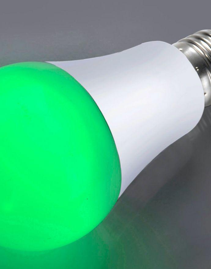 LED-Leuchtmittel E27, Grün, Partylicht