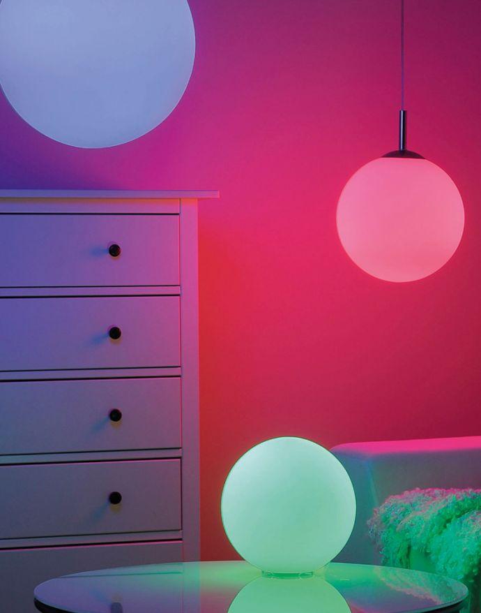 LED Leuchtmittel, E27 Fassung, dimmbar, RGB, CCT