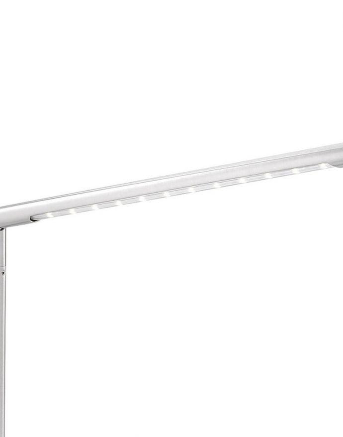 LED-Tischleuchte, höhenverstellbar, dimmbar über Tastendimmer