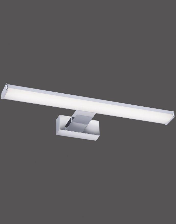 LED Wandleuchte, Bilderleuchte, Spiegelleuchte, Chrom, blendfrei