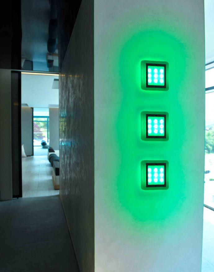 Paul Neuhaus, Q-VIDAL, LED-Einbauleuche, 3er Set, 10x10cm, Smart Home