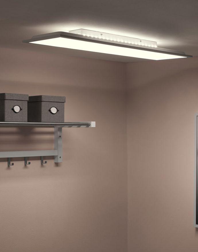 LED-Panel, weiß, 100x25cm, Backlight, dimmbar, Farbsteuerung