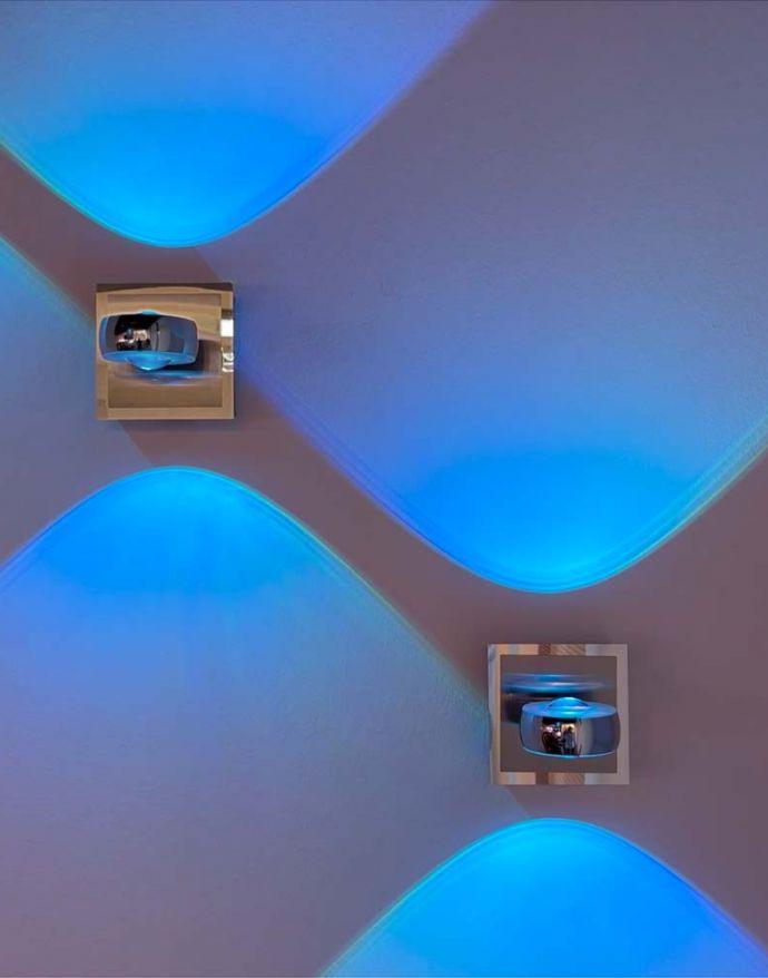 LED-Wandleuchte, Smart-Home, Fernbedienung, Farbwechsel, dimmbar, modern