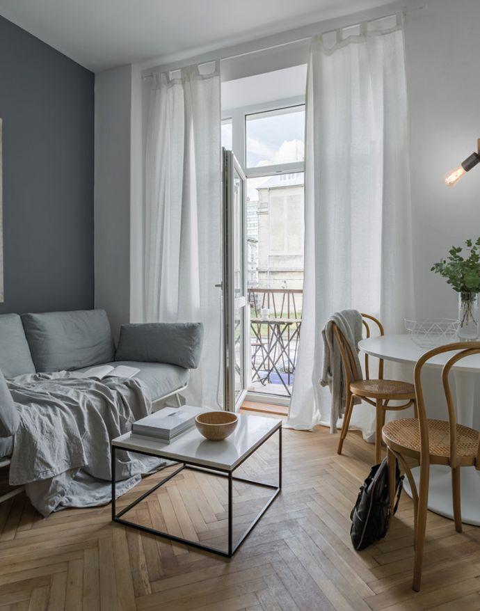 Wand- und Deckenleuchte, schwenkbarer Spot, Holz, Metall, rustikal,