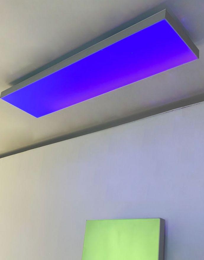 LED Panel, digitaler Farbwechsel RGB, CCT Steuerung, 100 x 25 cm