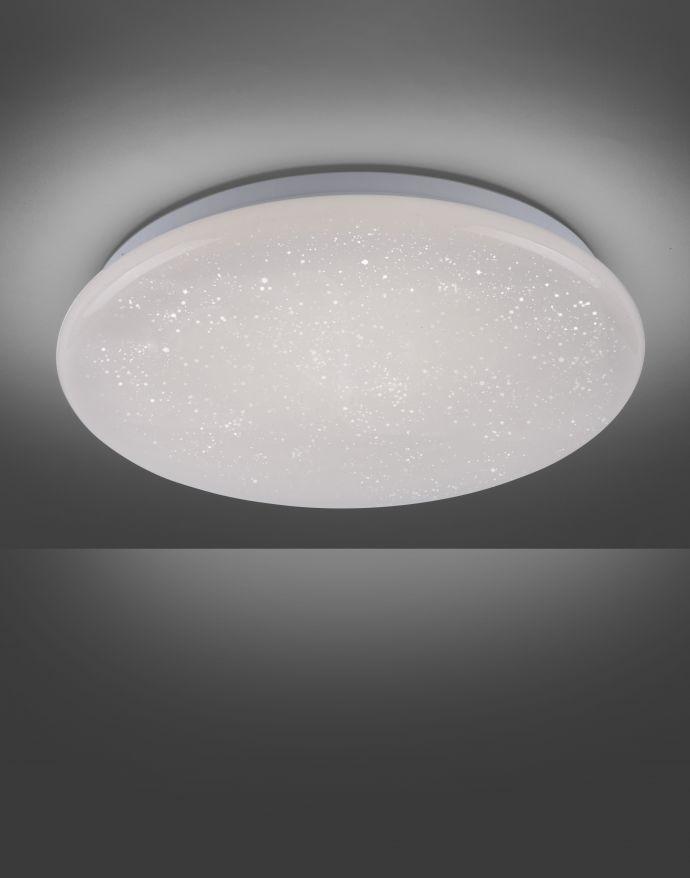 LED-Deckenleuchte, Badezimmer, Sternenhimmel, rund,  Ø 35cm, IP44