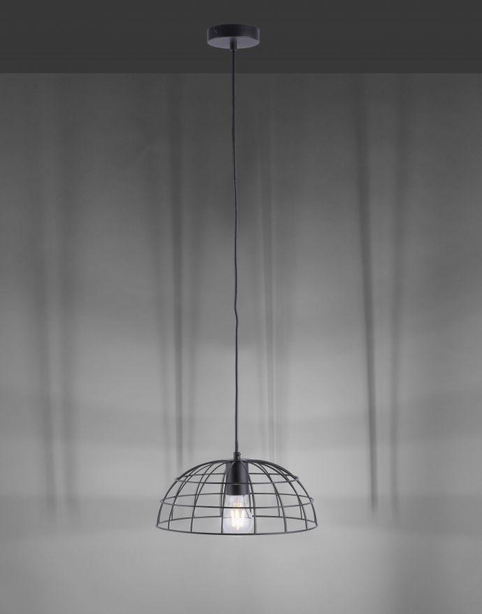 Pendelleuchte, schwarz, Retro-Design, dekorativ, höhenverstellbar,