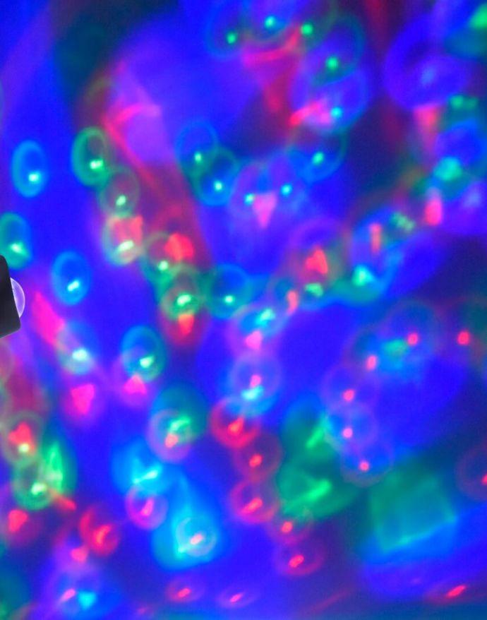 LED-Gartenerdspieß, Disco-Effekt, spritzwassergeschützt, schwarz