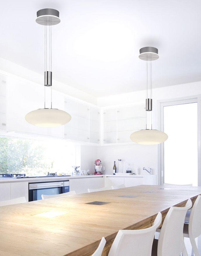 Paul Neuhaus, Q-ETIENNE, LED-Pendelleuchte, stahl, 1fla., Smart Home