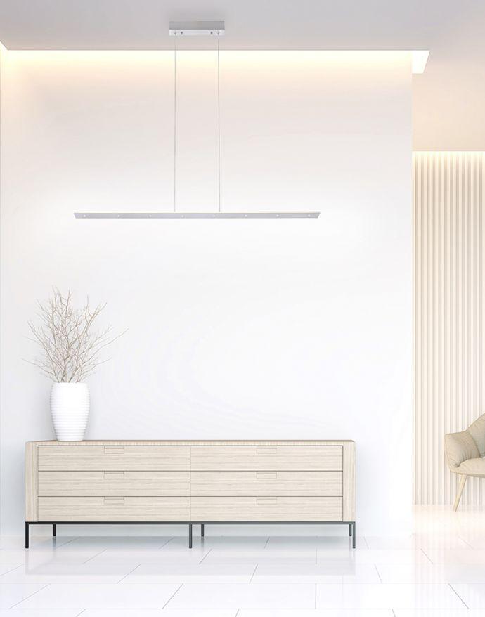PURE-COSMO, LED-Pendelleuchte, lineares Design, Lichtfarbsteuerung