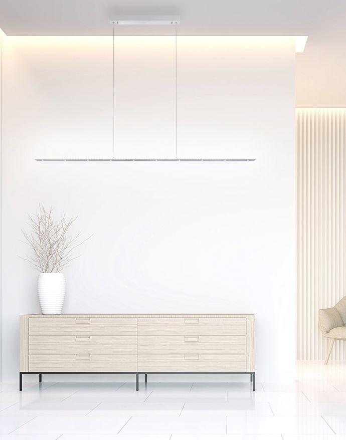 PURE-COSMO, LED-Pendelleuchte, lineares, klassisches Design, dimmbar