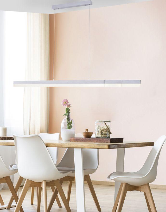 Paul Neuhaus, Q-TOWER, LED-Pendelleuchte, lineare, dimmbar, Memory Funktion, Smart Home