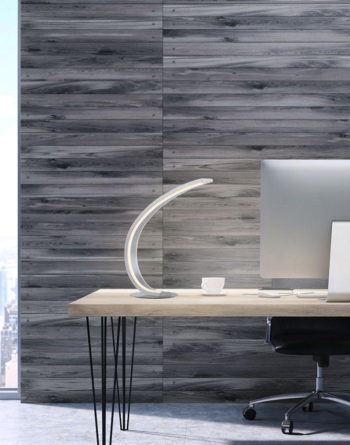 Paul Neuhaus, Q-VITO, LED-Tischleuchte, gebogen, CCT-Steuerung, Smart Home